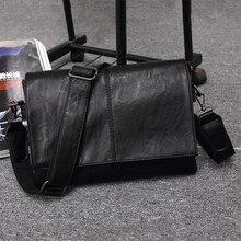Echtes Leder Männer Klassische Art Und Weise Beiläufige Geschäfts Schulter Handtaschen für mann, 2017 Neuen männer Reisetaschen Bolsas