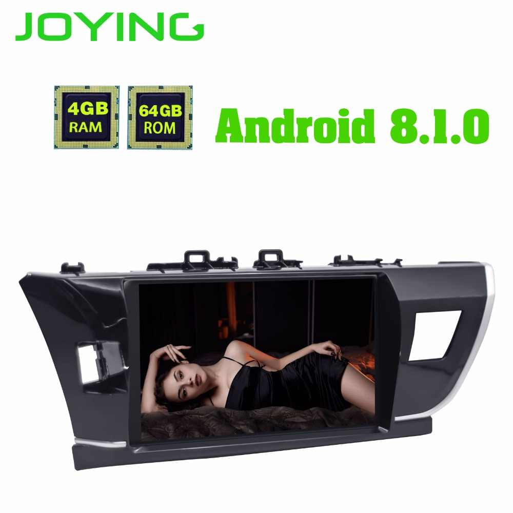 "10.1"" IPS GPS Navigation Android 8.1 Car radio Stereo Head Unit For Toyota Corolla 2014 2015 2016 Multimedia Bluetooth FM Player"
