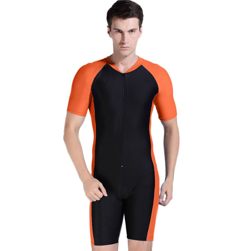 Newest Rashguard Men Swim Shirts Rash Guard Swimwear Lycra Surf Rushguard Top Short Sleeve