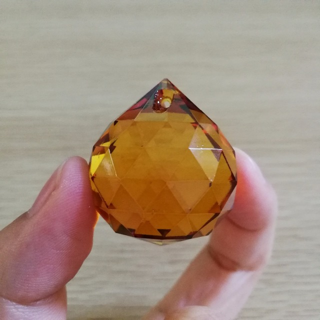 Hot 102pieces amber crystal chandelier decoration parts glass 102pieces amber crystal chandelier decoration parts glass lighting pendants feng shui faceted ball for aloadofball Gallery