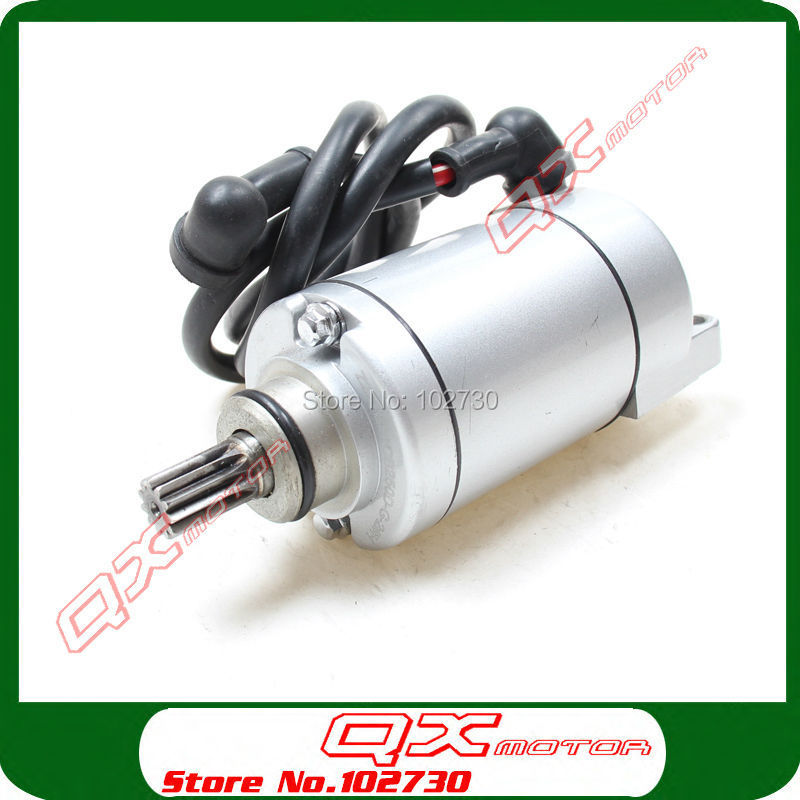 Zongshen CB250 Water Cooled Engine 11T Electric Starter Motor Fit Kayo Apollo Bosuer Xmotos 250cc Dirt Bike Motocross