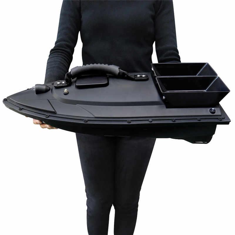 Flytec-elektryczna przynęta na ryby w formie zdalnie sterowanej łódki, lokalizator ryb, wędkowanie, 2011-5/V007/V500, zasięg 500 m, 5,4 km/h, podwójny silnik, zabawka, wersja RTR