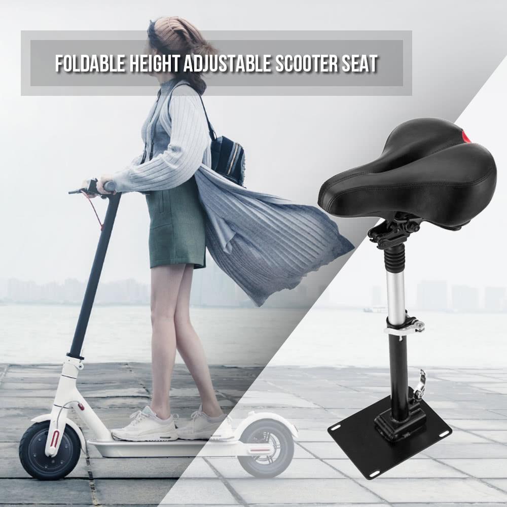 Électrique Planche À Roulettes Selle pour Xiaomi Mijia M365 Scooter Pliable Hauteur Réglable Choc Absorbant Pliage Siège Chaise