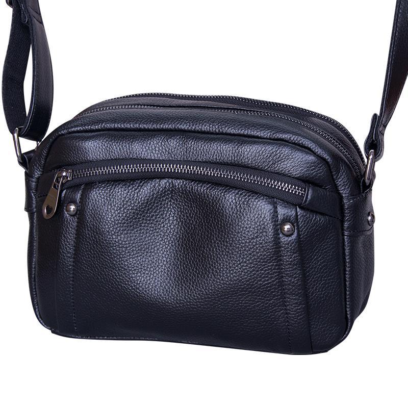 Cuir véritable petites dames Messenger sacs décontracté épaule bandoulière sacs pour femmes luxe sacs à main fourre-tout sac à main