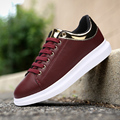 Size 39-44 Faux Leather Spring Men's Flats 2017 Mens Casual Shoes Gym Trainers Comfort Sapatos Lightweight Sapatilhas Moccasins