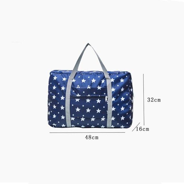 Travel Storage Bag Foldable Waterproof Clothing Cosmetic Storage Bag Unisex Large Finishing Bag Travel Bag 1