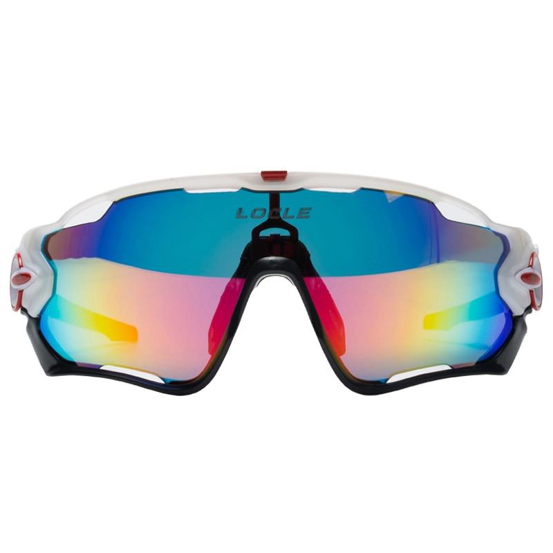 Prix pour Route de Montagne à Vélo Lunettes Lunettes Lunettes Polarisées UV400 Cyclisme Vélo lunettes de Soleil Oculos Gafas Ciclismo 5 Lentille