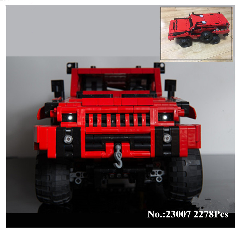 H HXY IN STOCK 23007 2278Pcs Genuine MOC Series The Marauder Set Children Educational Building Blocks
