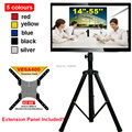 "14-55"" Movable Folding LCD TV Floor Stand TV Mount Cart Display Rack Full Motion TV Tripod Loading 50kgs Max.VESA 400x400mm"