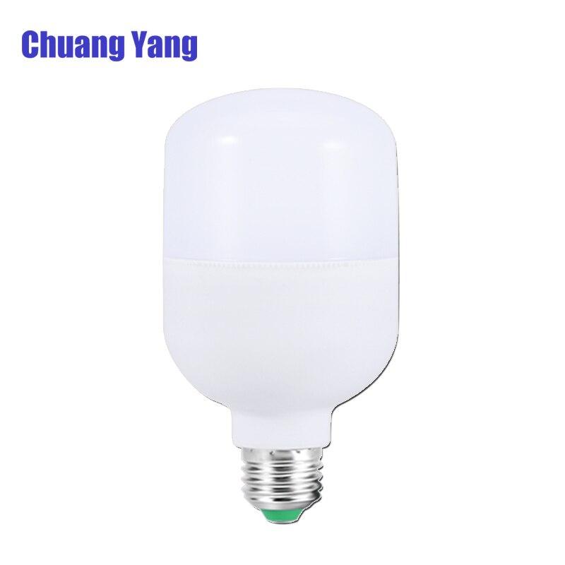 High Power Led Light SMD 2835 AC 220V 230V 240V LED Bulb E27 5W 10W 15W 20W 30W 40W 50W Lampada Led Lamps 220V 6500K Cold White