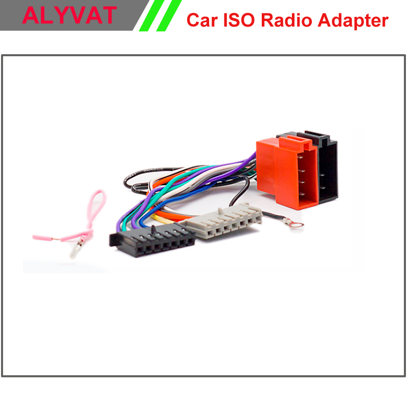 Car ISO Stereo Adapter Connector For Chrysler 2001 onwards Jeep 2002 onwards Wiring Harness Auto Radio