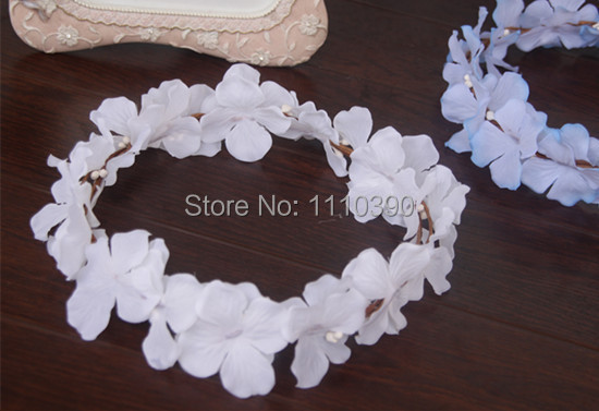 Aliexpress buy wholesale 18cm floral head brides wreathsilk wholesale 18cm floral head brides wreathsilk flower wreaths for diy girl hair wreath mightylinksfo