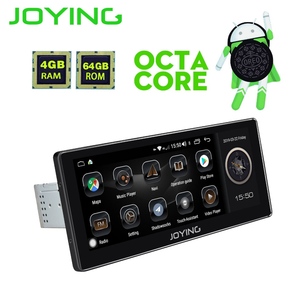 10.25Universal Car Radio Stereo Android 8.1 Head Unit Built-in 4G Modem DSP Zlink GPS Navi Multimedia NO DVD Player With New UI
