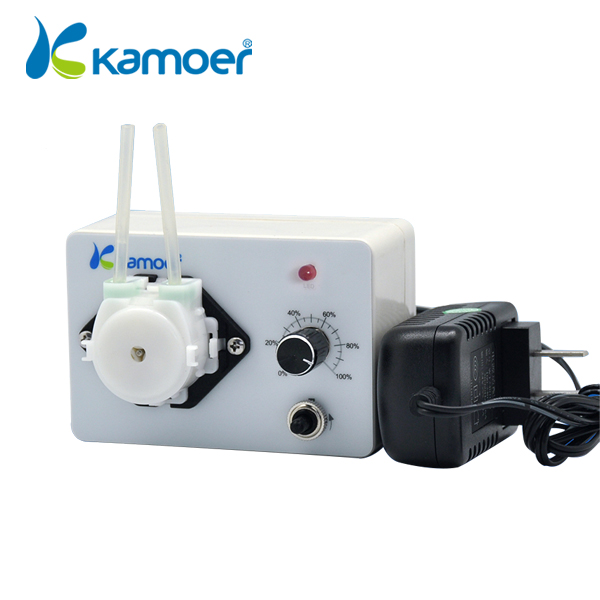 Mini peristaltic pump 24V With adjustable flow rate Micro electric Water Pump small dosing pump (L) Kamoer KCP3 kamoer kcs mini peristaltic pump stepper motor 24v electric water pump