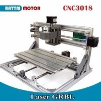 EU Ship CNC 3018 GRBL Control DIY Laser Machine Working Area 30x18x4 5cm 3 Axis Pcb