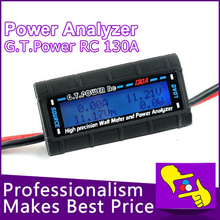 LCD Battery Balance G.T.POWER RC Watt Meter and Power Analyzer 130A  4.8-60v
