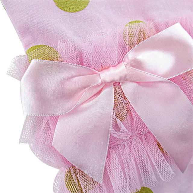 2 pcs Bébé Fille Polka Dot Costume Body avec Bandeau Infantile Parti Combishort Mignon Filles Vêtements 0-24 Mois