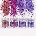 1 Caja de Uñas Glitter Blue Purple Glitter Powder Polvo Super Fino Hojas de Consejos Del Arte Del Clavo Decoración Del Arte Del Clavo Del Brillo 8193459