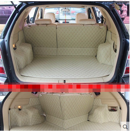 цена Good quality! Special trunk mats for Hyundai Tucson 2014-2006 waterproof boot carpets cargo liner for Tucson 2008,Free shipping