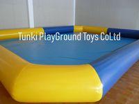 Big Inflatable kids water fun swimming pool 10x10x0.6M