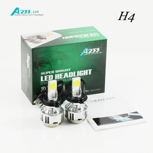Car headlight H4 H/L LED H13 9004/9007 H/L bulb before Auto bulb 66 W/ 6000lm flagship cars6000K / 4300K