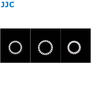 Image 4 - JJC DSLR Camera Flash Video Speedlite Inside Outside Half Whole LED Macro Ring Light for NIKON CANON SONY Fuji Olymous Panasonic