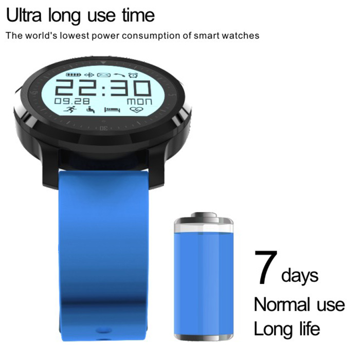 F68 Bluetooth 4.0 Sport Smart Watch Heart Rate Track Wristwatch 1.5 Inch Touch Screen Waterproof IP67 Watch For IOS Android (6)