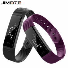 ID115 Smart Wristbands Fitness Tracker Step Counter Bracelet Pedometer Bluetooth Smartband Waterproof Sleep Monitor Wrist Watch(China)