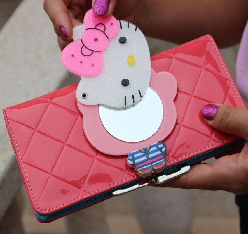 embreagem portefeuille femme carteira feminina Estilo : Desenho Animado