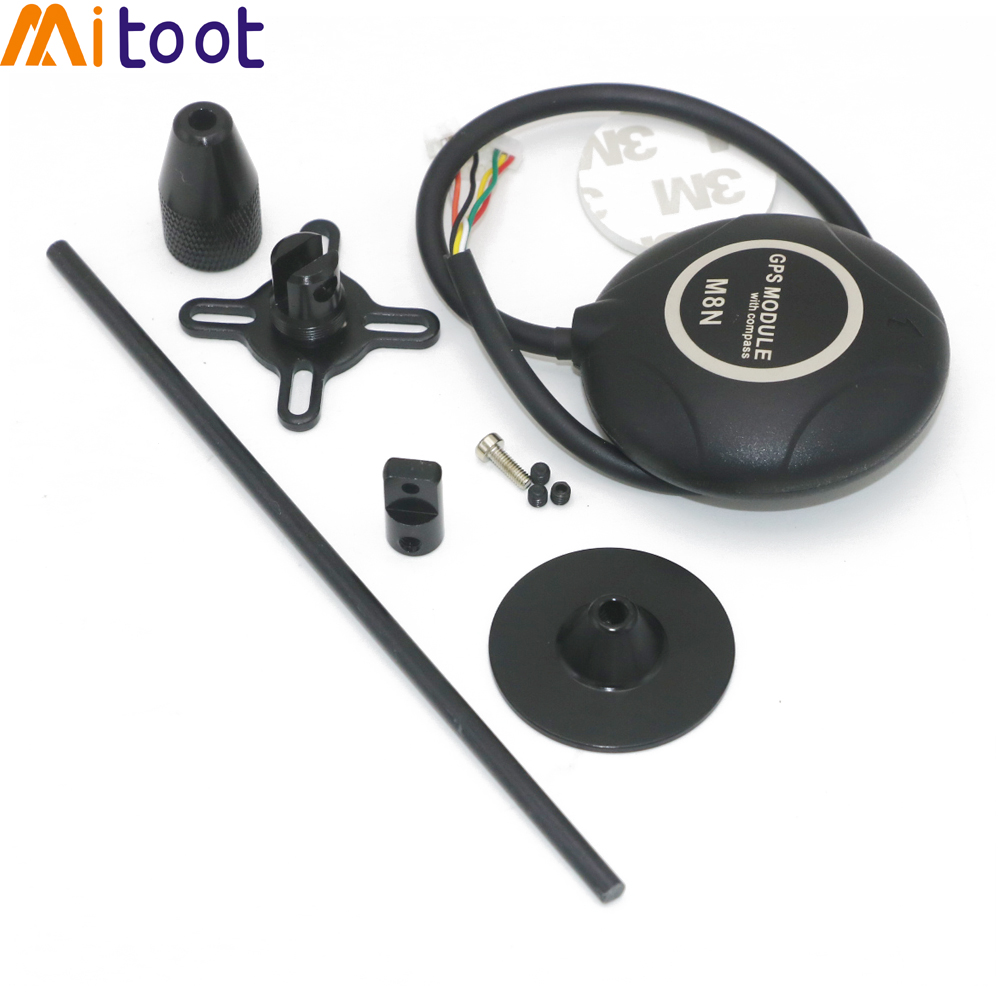 M8N 8M GPS Flight Controller GPS Module with Shell & Stand for APM / PX4 Pixhawk /Mini APm(China)