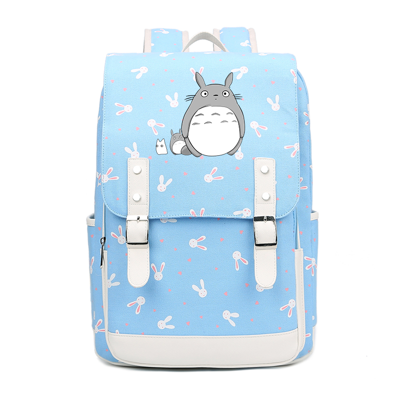 Kawaii totoro cartoon children shoulder beautiful backpack for students boys and girls bags backpack Cosplay School Mochila FT mari sinila jalgpalluri naine luksuslik aasta itaalias