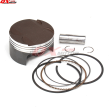цены Zongshen NC250 Piston kit ZS177MM Engine NC250 Piston kit  KAYO T6 BSE J5 xmotos 250cc 4 valves Engine parts Free shipping