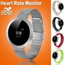Женщины Плавать Круглый Bluetooth Смарт-Фитнес-Трекер Браслет Умный Браслет Браслет Монитор Сердечного ритма Smartband Для iOS Android