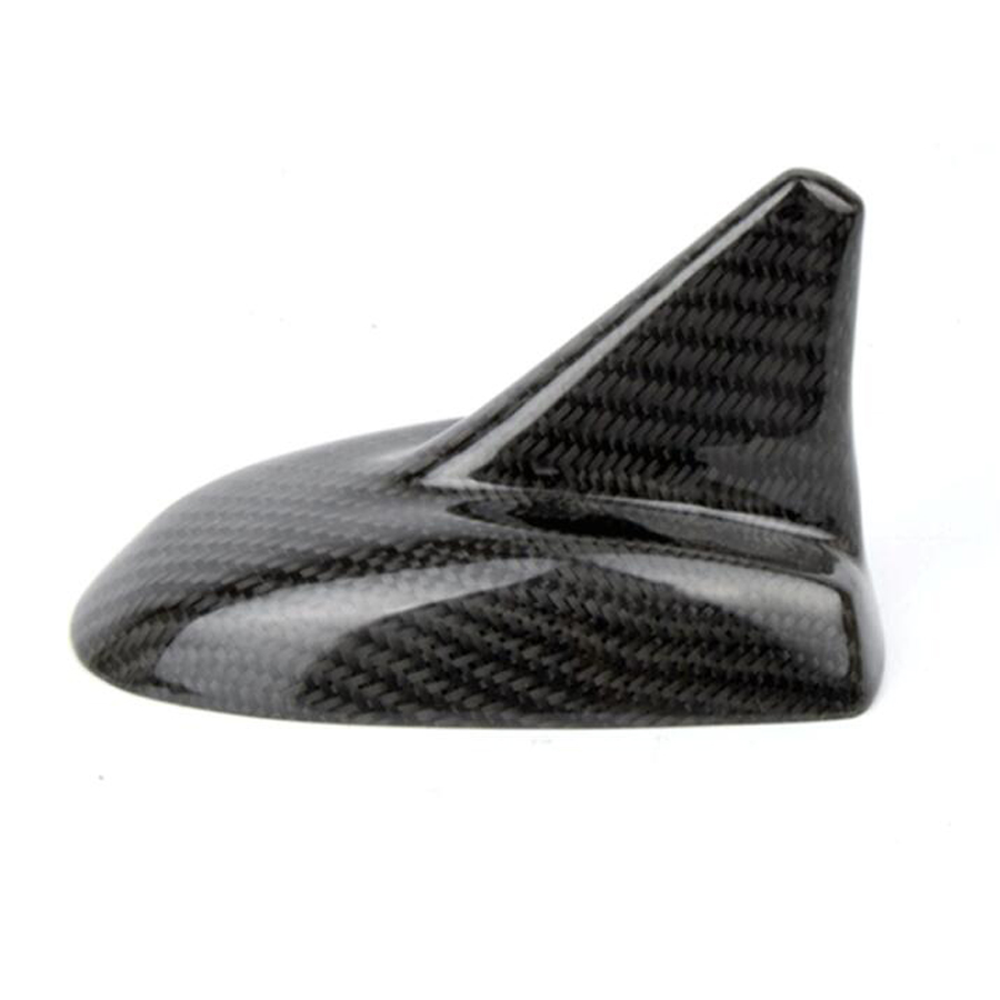 YAQUICKA Carbon Fiber Car Exterior Roof Antenna Cover Shell Shark Style Trim Styling For Maserati Quattroporte Ghibli Levante