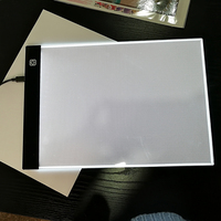 Diamond Embroidery Painting Ultra Thin A4 LED Light Stencil Touch Board Dimmable Apply To EU UK
