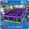12 mL * 6 mW jogos infláveis dos esportes, assombrada inflável labirinto, labirinto inflável