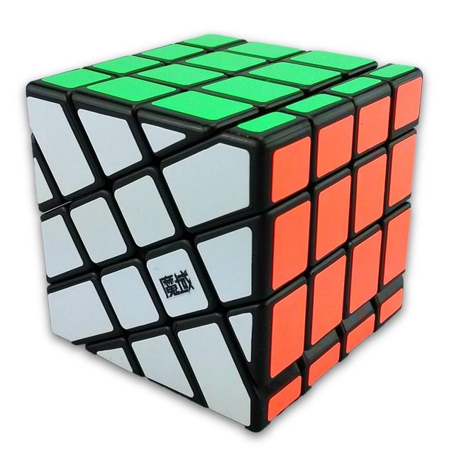 YongJun MoYu Aosu Windfire Caliente Rueda 65mm 4x4x4 Cubo Mágico Puzzle Velocidad Skewb Cubos de Fisher Juguetes educativos para Niños de Los Niños