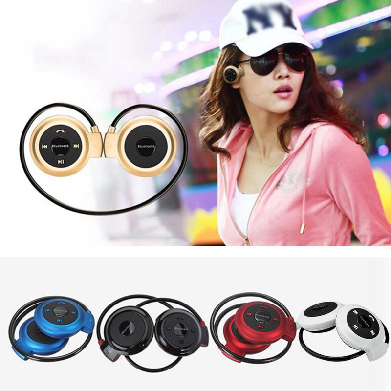 Mini 503 Neckband Sport Wireless Bluetooth Handsfree Stereo Headset Headphone Earphone for Mp3 Player Hot Sale hbs 760 bluetooth 4 0 headset headphone wireless stereo hifi handsfree neckband sweatproof sport earphone earbuds for call music