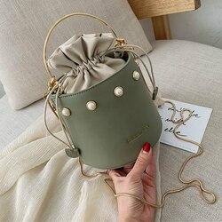 Luxo bolsas sacos para as mulheres 2019 de alta qualidade couro mulher balde saco senhoras crossbody sacos alta capacidade bolsa ombro