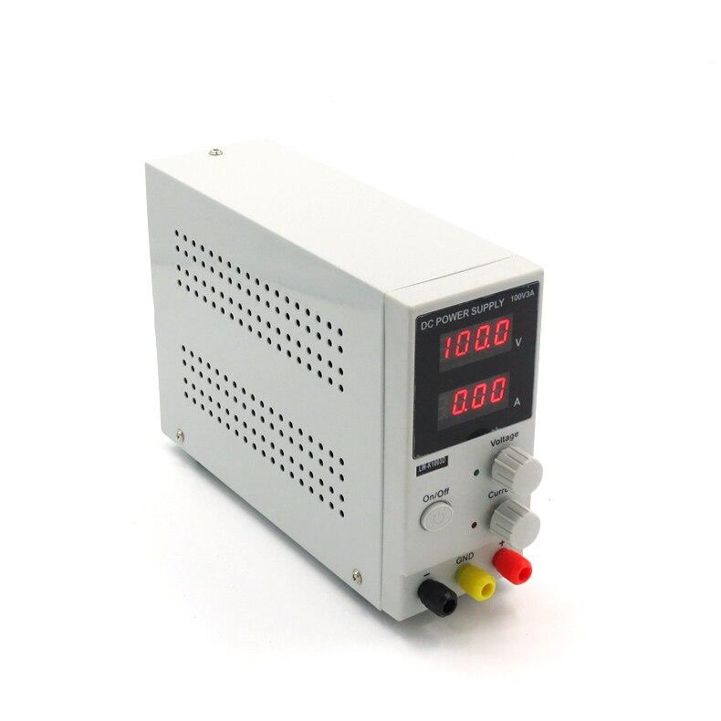 Long Wei DC adjustable digital power supply 0-100V0-1A / 2A / 3A DC power supply rps3020d 2 digital dc power adjustable power 30v 20a power supply linear power notebook maintenance