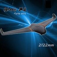 Скайуокер X8 Новое поступление последней версии Скайуокер FPV летающее крыло 2122 мм RC плоскости пустой рамки 2 м x 8 EPO RC