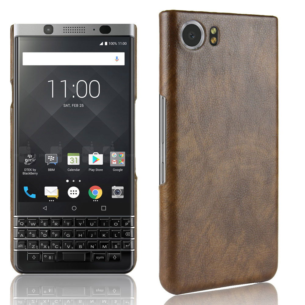 low cost 3d3c8 eb5c6 US $2.7 15% OFF Vintage PU Leather Phone Case For Blackberry Keyone 2  DTEK70 Case Luxury Business Style Cover For Blackberry Key2 Key 2  Keyone2-in ...