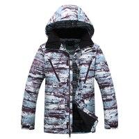Ski Jacket Men Ski Coat Men Windproof Waterproof Snowboard Jacket Winter Outdoor Warm Ski Clothing