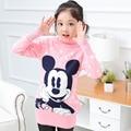 girls sweaters 7 16 8 11 years girl girls top 12 years animal pattern outerwear kids knitted children turtleneck