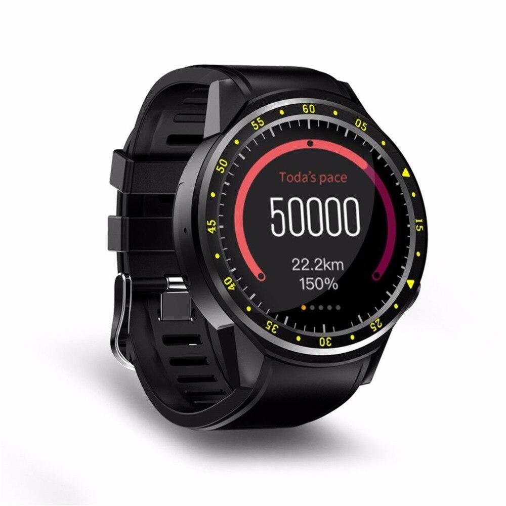 Montre intelligente Sport F1 avec prise en charge de la caméra GPS chronomètre Bluetooth Smartwatch montre-bracelet carte SIM pour téléphone Android IOS 2018 nouveau