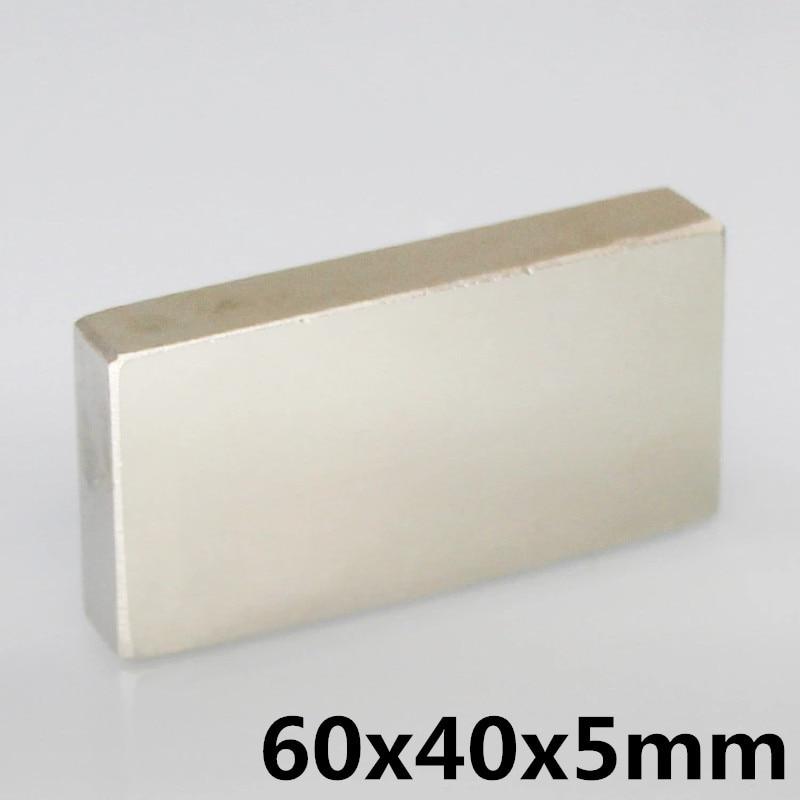 60x40x5 Strong Rare Earth Cubic Block square Rare Earth Neodymium Magnets 60x40x5mm Permanent 60*40*5 mm60x40x5 Strong Rare Earth Cubic Block square Rare Earth Neodymium Magnets 60x40x5mm Permanent 60*40*5 mm