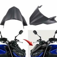 Motorcycle Black Fly Screen Beak Cowl Protector Cover For Yamaha MT09 FZ09 MT 09 FZ 09 MT 09 FZ 09 2017 2018 2019