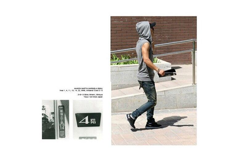Летние стильные мужские майки Брендовые мужские s мужские облегающие толстовка с капюшоном куртка без рукавов жилет Размер M-4XL