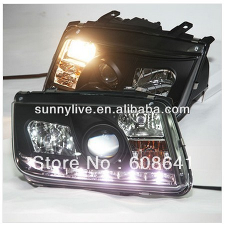 For VW Bora Jetta LED Head Light  1999- 2005 year  SONAR Style vw bora выпускной коллектор