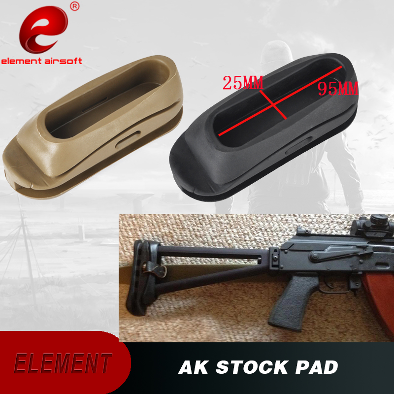 Element Airsoft Ak47 Stock Pad Recoil Pad Stock Butt Shockproof Silicone Rubber For Softair Gun Accessories 47 Pad Ot0401 Airsoft Gun Accessories Rubber Butt Padrubber Silicone Aliexpress